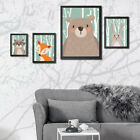 Wall Painting Cartoon Animal For Baby Room Decor Poster Unframed Best Seller