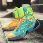 Mens High Top Basketball Shoes Outdoor Athletic Running Training Shock Sneakers