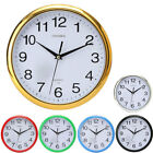 Large Vintage Round Modern Home Bedroom Retro Time Kitchen Wall Clock Quartz Hot