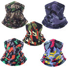 Outdoor Motorcycle Face Mask Tactical Camouflage Bandana Half Face Mask US FAST