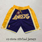 Los Angeles Lackers Purple Basketball Jersey Raptors Basketball Shorts M-2XL