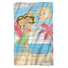 BETTY BOOP HULA BOOP FLEECE THROW SOFT BLANKET 36X58 $27.95 USD on eBay