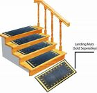 14  Carpet Stair Treads - Rubber backing, Machine Washable - Navy Blue