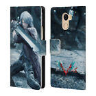 OFFICIAL DEVIL MAY CRY 5 CHARACTERS LEATHER BOOK CASE FOR WILEYFOX & ESSENTIAL