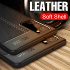 For Samsung Galaxy Note 20 S20 FE S21 Ultra Plus Rubber TPU Leather Cover Case