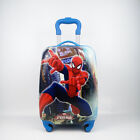 UK Children Kid Holiday Travel Hard Shell Suitcase Luggage Trolley Bag Spinner 4