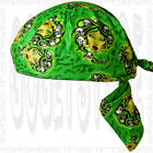Do Garden End Head Lot Doo Rag Du Skull Buy Biker Cap Wear Hat Paisley Bandana
