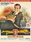 Vintage Movie Poster James Bond Goldfinger £19.99 GBP on eBay