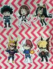 BNHA My Hero Academia Stickers Deku, Tsuyu, Ochako, Bakugo, Todoroki, All Might