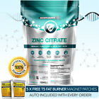 ZINC CITRATE - STRONGEST LEGAL - 50MG TABLETS - SEXUAL HEALTH ACNE SKIN HAIR ++