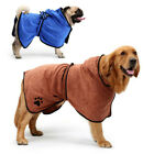 Dog Bathrobe Absorbent Pet Shower Drying Towel for Cat Puppy Bath Grooming Soft