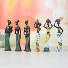 Resin African Dolls Exotic Lady Figurines Furnishing Living Room Art Decor Craft for sale  Shipping to Nigeria
