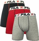 Fila Mens 3-pk. Lightweight Boxer Briefs
