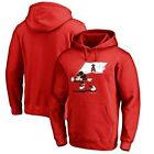 Los Angeles Angels Fanatics Branded Disney Fly Your Flag Pullover Hoodie - Red on Ebay