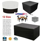 12 Sizes Waterproof Outdoor Patio Garden Furniture Rain Snow Uv  Furniture Cover