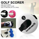Golf Score Counter Mini Golf Stroke Counter One Touch Reset with Clip 3 Colors