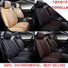 Auto Car Seat Cover Cushion Mat PU Leather All Weather Pad ZB For Toyota Corolla on eBay