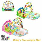 Kyпить Baby Gym Floor Play Mat Activity Center Kick and Play | Sit and Play with Piano на еВаy.соm