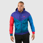 NEW MENS M XL NIKE SPORTSWEAR WINDRUNNER JACKET PURPLE BLUE RED 727324 590