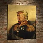 Art Oil Painting HD Print Donald Trump On Canvas Deco Wall Poster