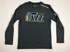 Fanatics Utah Jazz - Gray Long Sleeve Shirt (Multiple Sizes) - Used
