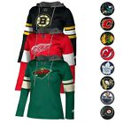 NHL Adidas Women's Team Crest Crewdie Pullover Jersey Hoodie Collection $37.5 USD on eBay