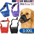 Kyпить Pet Dog Muzzle Stop to Barking & Chewing Adjustable Mesh Mask Protect to Biting на еВаy.соm