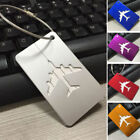 Flight Luggage Tag Strap Name Address ID Suitcase Baggage Travel Label Tag SS-CA