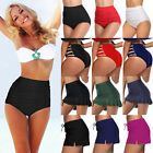 Sexy Womens Bikini Bottoms High Waist Boy Style Cut Out Ruched Swimwear Swimsuit for sale  Southend-on-Sea