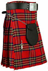 Scottish Men's Kilt Traditional Highland Dress Skirt Tartan Kilts