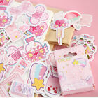 Внешний вид - 46PCS/Box Cute Stickers Kawaii Stationery DIY Scrapbooking Diary Label Stickers