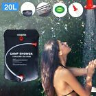 Portable Shower Heating Pump Bag Solar Water Heater Outdoor Camping Camp ❤