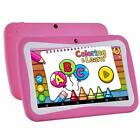 Android Kids Tablet HD Display QuadCore WiFi Dual Camera Bluetooth Educational
