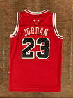 Men's & Youth Throwback Swingman MICHAEL JORDAN 23 RED Chicago Bulls Jersey on eBay