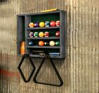 Pool Ball & Accessory Rack – Reclaimed Wood - Made in the USA - Solid Wood $269.0 USD on eBay