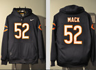 Khalil Mack Chicago Bears Jersey NFL Hooded Sweatshirt Embroidered Hoodie $74.99 USD on eBay