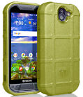 Tactical Rugged Shield Case Flexible Matte Cover for Kyocera Duraforce Pro 2