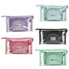3Pcs Home Travel Clear Case Cosmetic Makeup Zip Storage Bag Toiletry Travel Bag