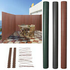 Garden Fencing Screening Pvc Screen Double Side Bamboo Fence Panel Fixing/covers