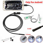 For Android iPhone WIFI Endoscope Waterproof Borescope Inspection Camera Sw TD
