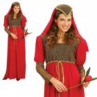 Ladies Medieval Princess Juliet Womens Fancy Dress Costume Party Outfit New