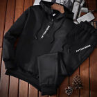 DA45 Two Piece Hoodies Suit Comfortable Running Mens Sport Suit Play Football