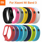 For XIAOMI MI Band 4 /MI Band 3 Silicon Bangle Wrist Strap WristBand Bracelet-SL image
