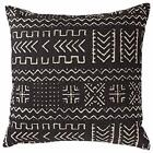 Rivet Mudcloth-Inspired Decorative Throw Pillow, 17