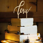 Mr And Mrs Rustic Wedding Cake Topper Laser Cut Wood Letters Party DIY