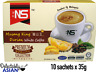 NS MUSANG KING DURIAN White Coffee Instant Premium Coffee Mix (10 sticks x 35g)