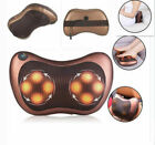Shiatsu Deep Kneading Electric Massager Therapy Foot Back Neck Shoulder Pain New