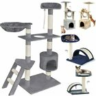 Large Cat Tree Scratching Post Activity Centre Pet House Cat Climbing for 37