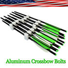 Aluminum Arrow Crossbow Bolts Archery Target Arrows Outdoor Hunting 16-22 inch