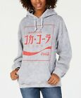 True Vintage Juniors' Grey Coca Cola Japan Hoodie Sweatshirt Size S $16.49  on eBay